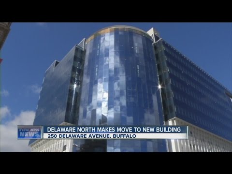 Delaware North moves into new digs