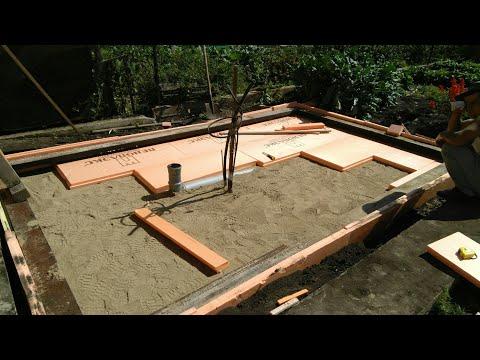 Баня №1 - Фундамент для кругло-годичной бани как должно быть в моем понимании.