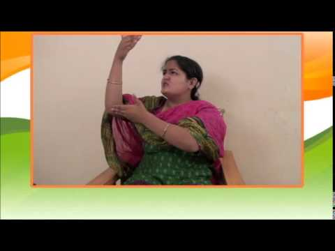 History of National Flag by Sign Language 2014