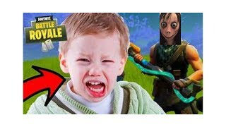 TROLLING KID ON FORTNITE WHO THINKS I AM THE MOMO CHALLENGE (GONE WRONG)
