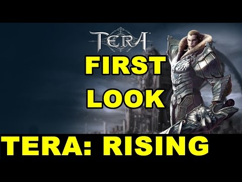 TERA Rising Gameplay | A First Look at Levels 1-5 in the F2P MMORPG TERA