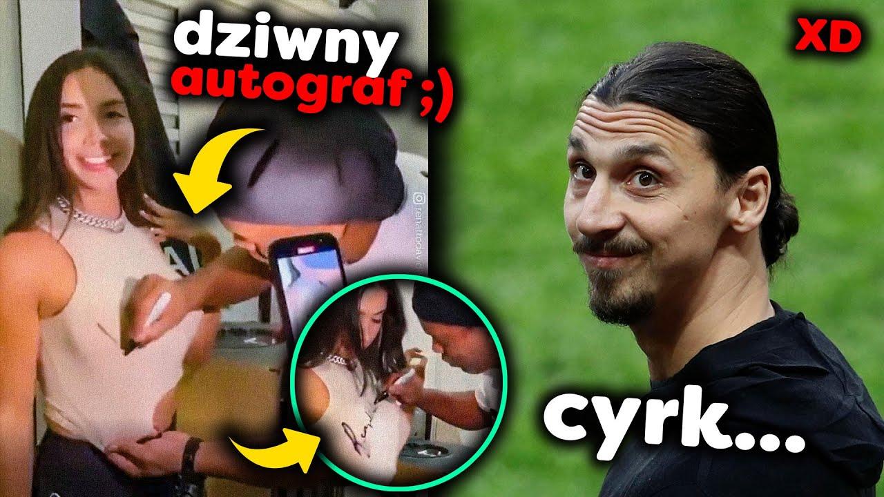 Ronaldinho podpisał się na fance ( ͡° ͜ʖ ͡°) Zlatan spoliczkował kolegę, bo go POCAŁOWAŁ | LANDRI