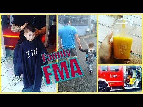 Familien Vlog | shoppen im Asia Shop | beim Friseur | klitschnass | Feuerwehr | Familybook