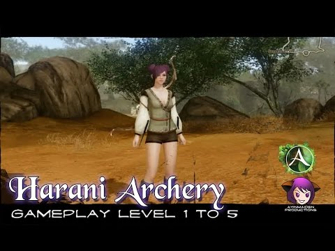 ★ ArcheAge ★ - Harani Archery Gameplay - Level 1 to 5