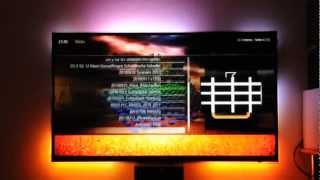 Perfect HTPC (Ubuntu 11.10 + XBMC PVR EDEN RC + HD+/Sky + Selfmade-Ambilight 78Ch @ Medium Speed)
