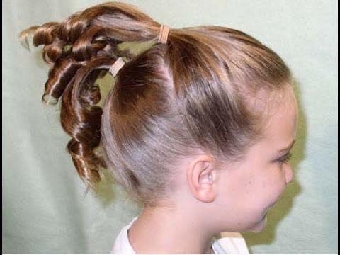 peinados para nias como hacer faciles y simples regogidos de cabello ideas