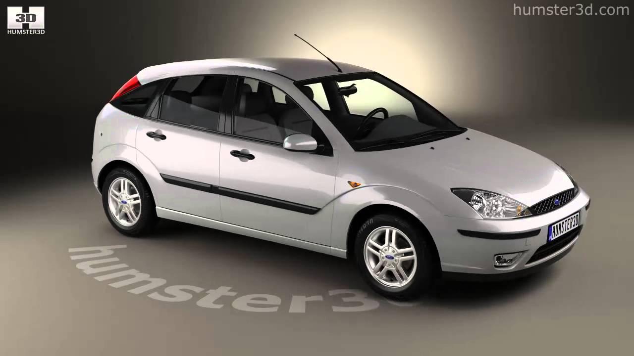 Ford focus 5 door hatchback 2002 3d model by humster3d com youtube