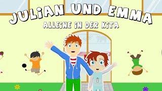 EMMA + JULIAN ALLEINE IN KITA SONNENSCHEIN! Familie Vogel Kinderserie Zeichentrickfilm Deutsch