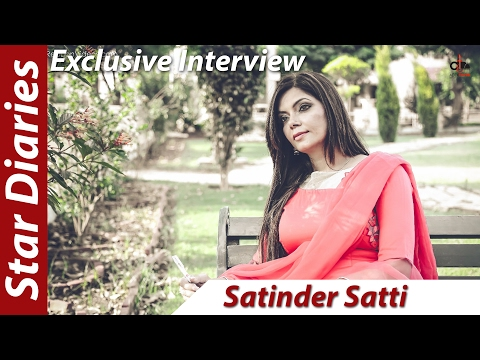 Satinder Satti - Star Diaries - Punjabi TV Anchor - Interview - Addi Tappa Music