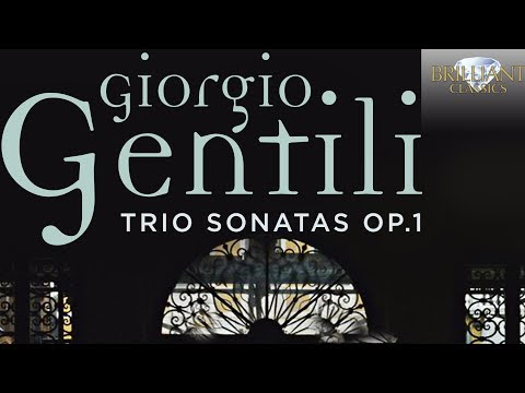 Gentili: Trio Sonatas Op.1