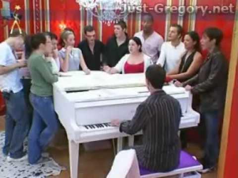 Grégory Lemarchal chante