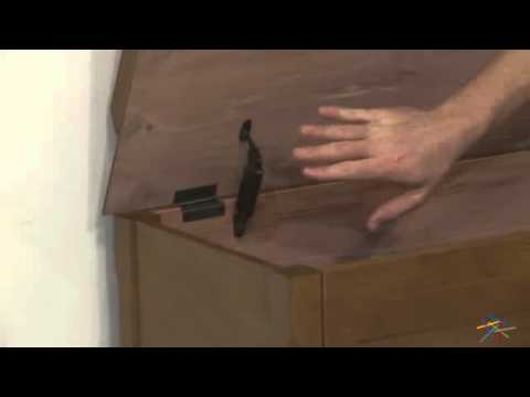 Cedar Chest Mission Bench with Cushion - Oak - Product Review Video