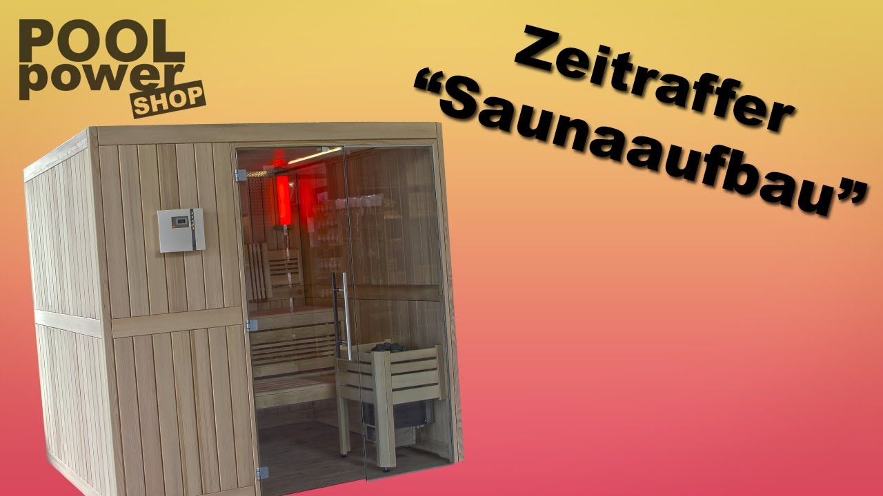 sauna selber bauen im zeitraffer youtube. Black Bedroom Furniture Sets. Home Design Ideas