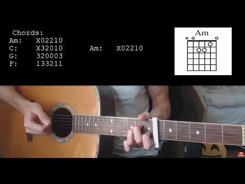 Halsey – Without me EASY Guitar Tutorial With Chords / Lyrics