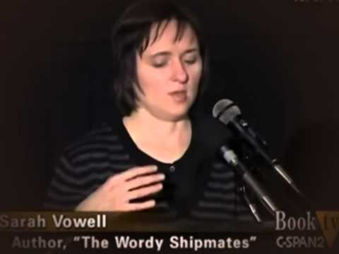A History of American Puritan Settlers  Sarah Vowell on The Wordy Shipmates 2008