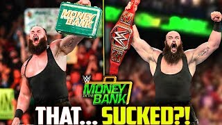 WWE Money In The Bank 2018 Review!