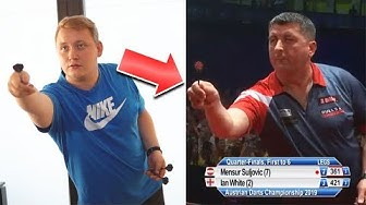 Martin Schindler imitiert Dartspieler (zu lustig)