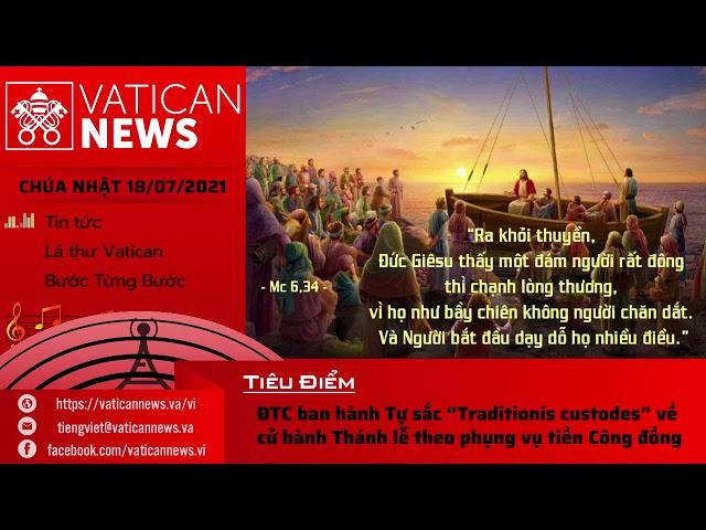 Radio Chúa Nhật 18/07/2021 - Vatican News Tiếng Việt