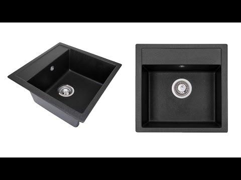 Обзор кухонной мойки Granado Merida Black Shine (www.santehimport.com)