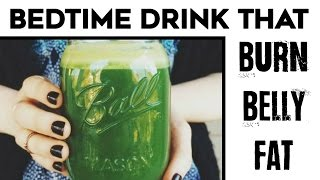 🍵 Killer Belly Fat Cutter Drink | Try This Belly Fat Burning Drink Before Bed! (Melts Fat)