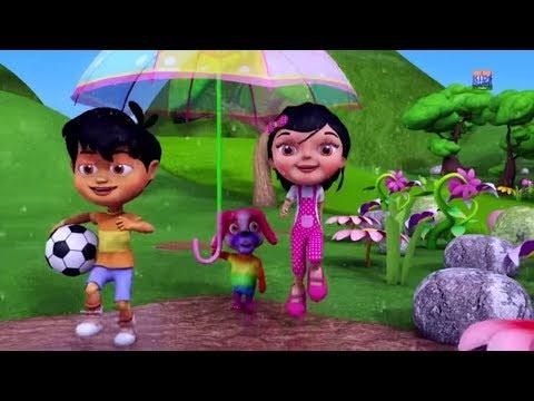 Pani Barsa Cham Cham | पानी बरसा छम छम छम | Balgeet Hindi | Kids Channel India | Hindi Kids Rhymes