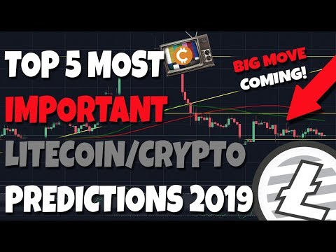5 Most Important Litecoin & Crypto Predictions of 2019 (Neo Analysis)