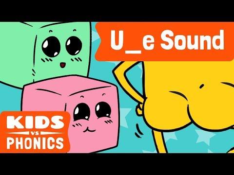 U_E | Fun Phonics | How to Read | Magic E | Made by Kids vs Phonics
