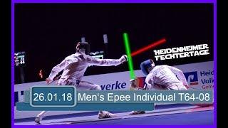 Heidenheim Men's Epee individual World Cup - Piste Blue