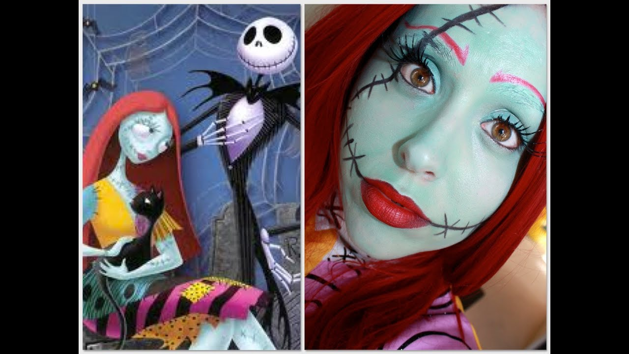 Nightmare Before Christmas Jack And Sally Makeup | Makeupview.co