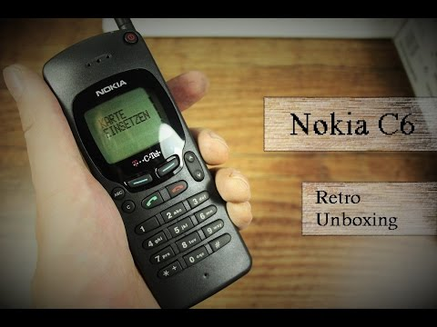 Retro Unboxing #2 : C Netz Telefon Nokia C6