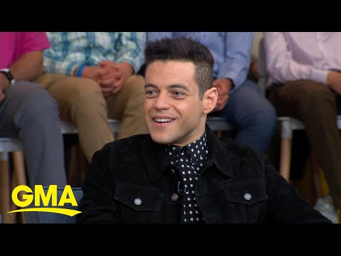 Meet the new villain from 'Bond 25' - Rami Malek live on GMA!