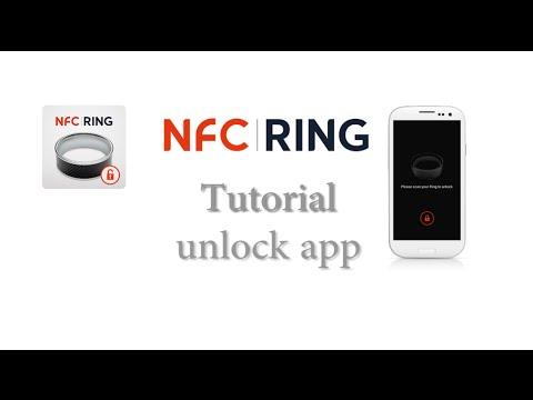 How to setup NFC Ring unlock app
