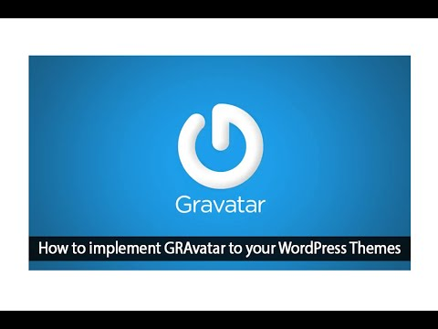 How To add Gravatar image on your Site