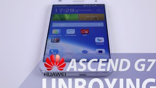 Huawei Ascend G7, unboxing in italiano