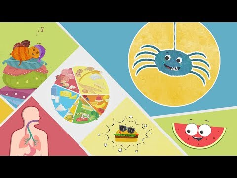 Health Tips, Food Nutrition Facts and Benefits, Habits and Manners | Health Education by Mocomi Kids