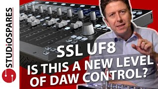 SSL UF8 Introduction - Is this a new level of DAW control?