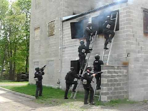 Swat team training