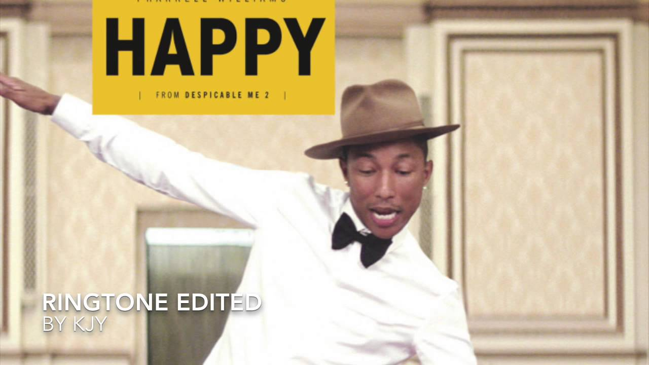 Рингтон happy pharrell williams скачать