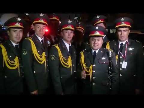 Военный оркестр Минобороны Узбекистана с Красной площади поздравляют свою страну с праздником!