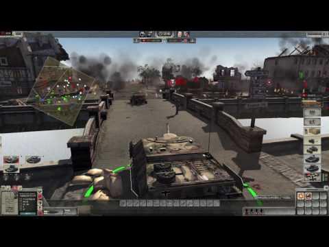 Men of War Assault Squad 2: Germany vs USA - River Town - Robz Mod