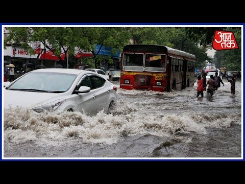 Heavy Rainfall Leads To Extensive Water Logging In Allahabad