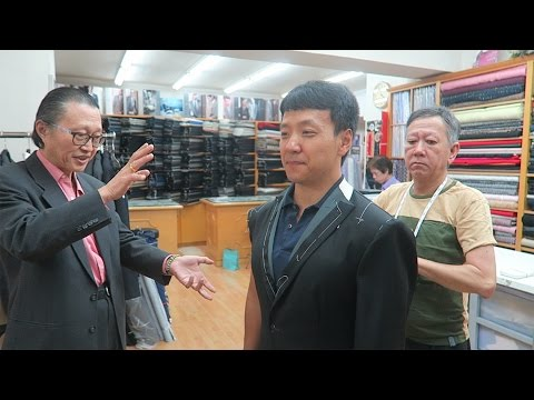 Buying a Custom Tailored Bespoke Suit in Hong Kong(Anthony Bourdain Recommended)