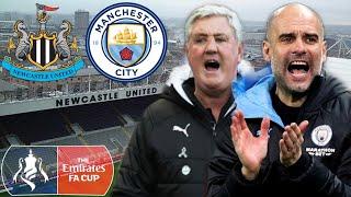 Newcastle United Vs Manchester City | The Fa Cup Quarter Final