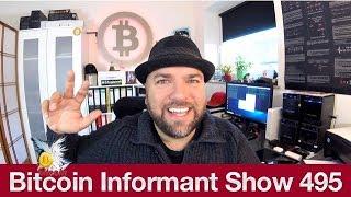 #495 Bitcoin Hodler falsches Mindset, Bitcoin Verkauf in Tabakläden & Mining Geräte Abverkauf
