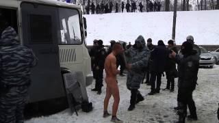 Беркут - фашисты! Пытки над пленными!