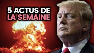 La suite de USA vs IRAN, crash iranien, Meghan Markle, violences policières... 5 actus de la semaine