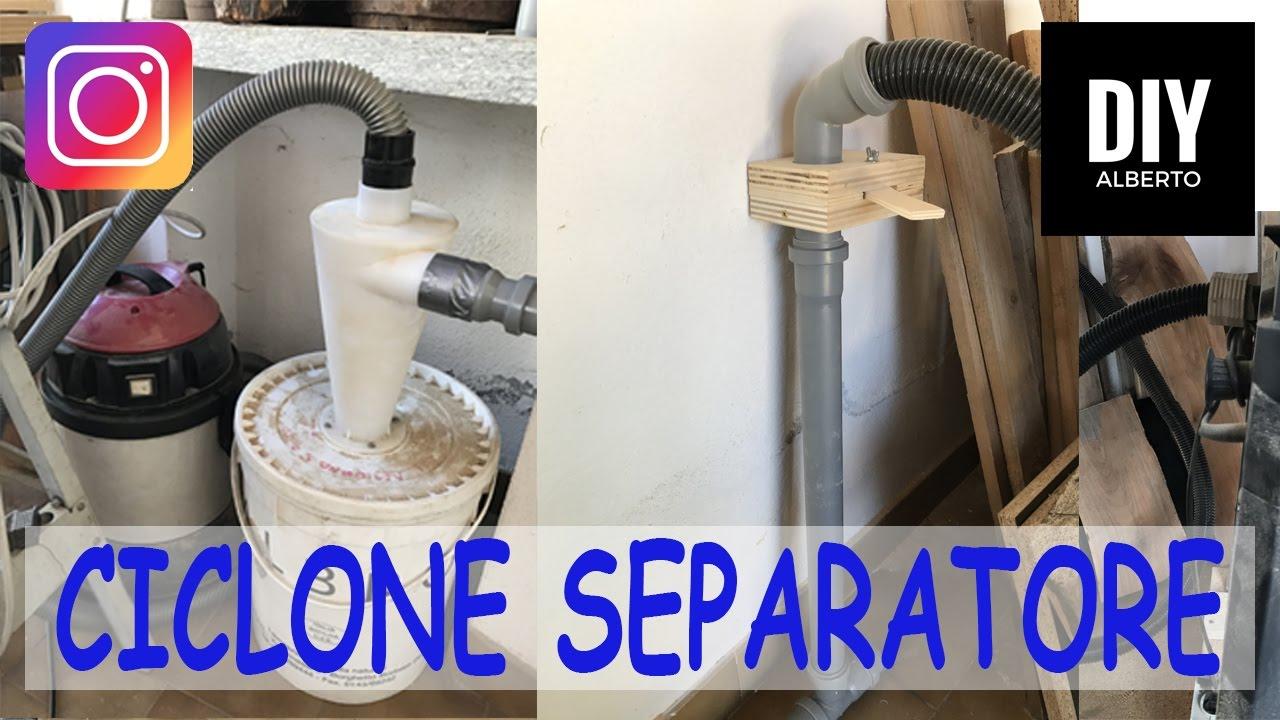 Impianto di aspirazione ciclonico separatore del mio for Realizzare impianto idraulico fai da te