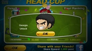 How To Unlock Georgia In Head Soccer (Head Cup)