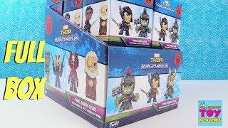 Marvel Thor Ragnarok Funko Mystery Minis Bobble Heads Full Box Opening | PSToyReviews