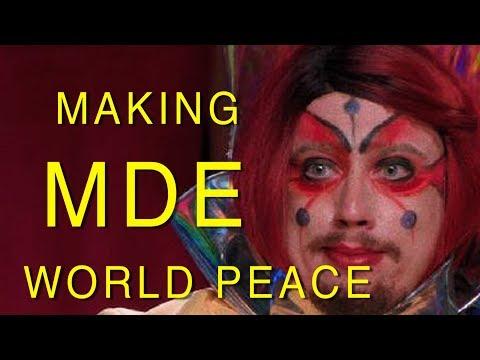 MDE World Peace behind the scenes - (Sam Hyde, Nick Rochefort & Charls Carroll)